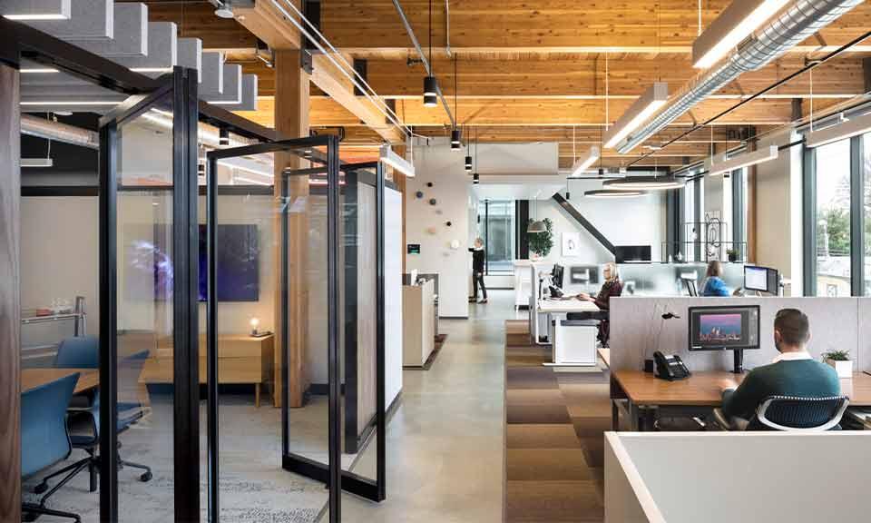 Aantal vierkante meter per werkplek