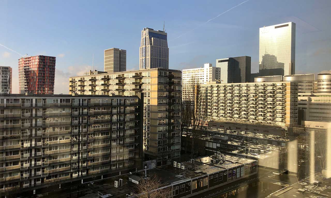Aert van Nesstraat 45 Rotterdam Building Uitzicht boven