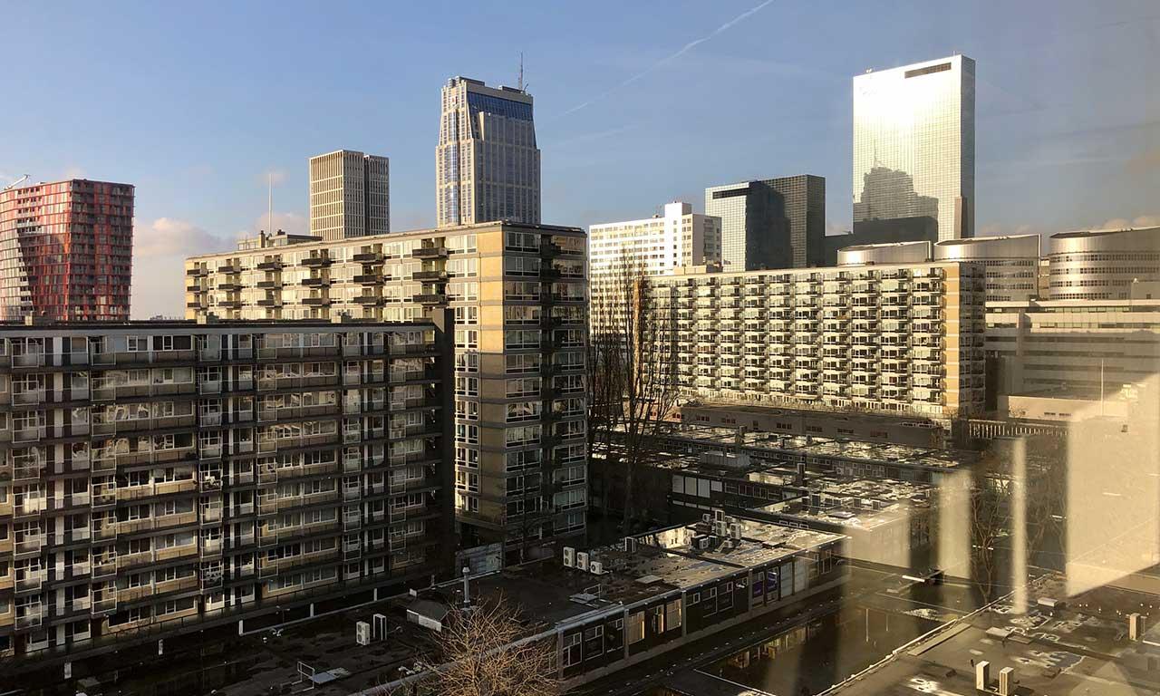Aert van Nesstraat 45 Rotterdam Building Uitzicht