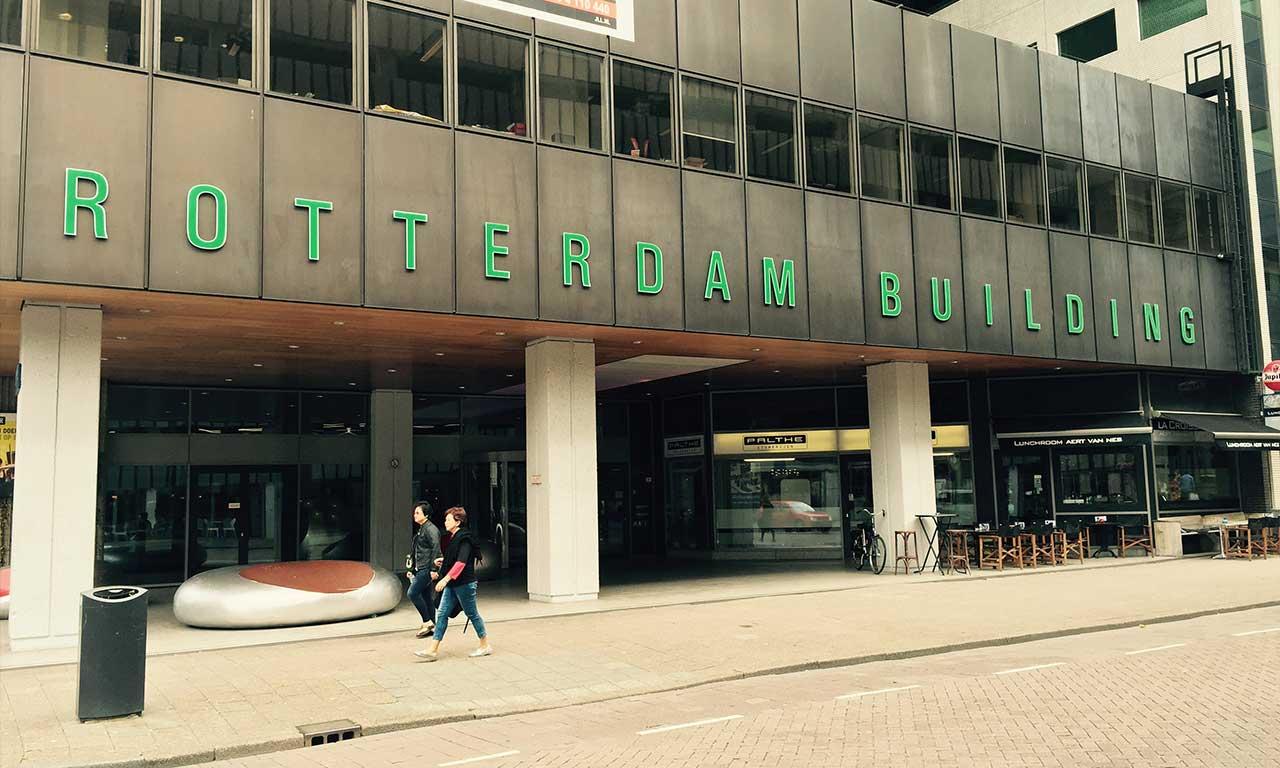 Rotterdam Building Voorkant