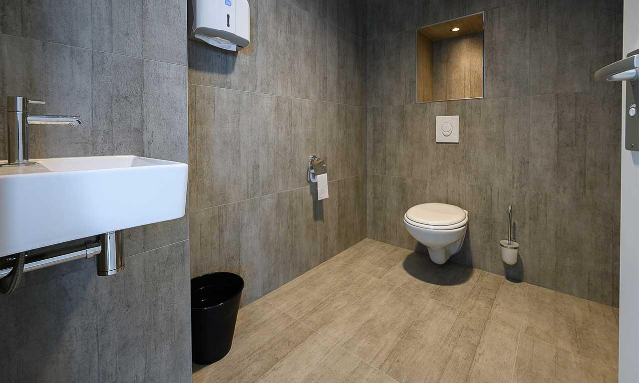 Rotterdam Building Toilet