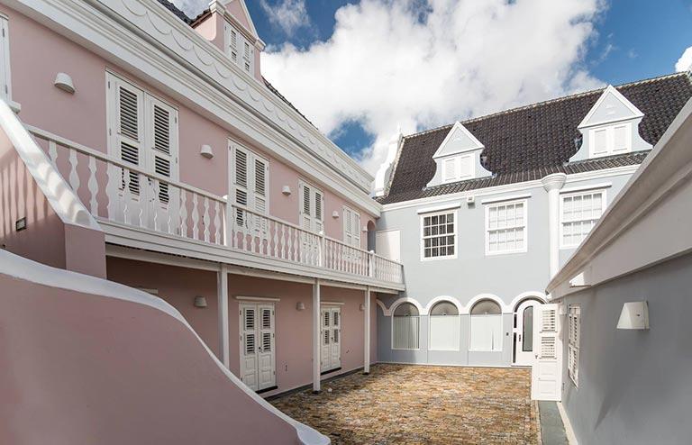 Kantoor Willemstad Curacao Bitterstraat